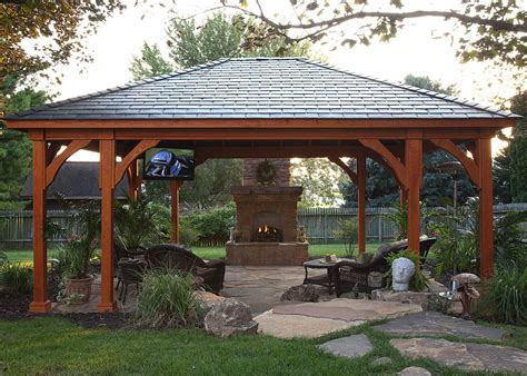 Backyard Pavillion by Pergolas Pavilions And Gazebos Lancaster Pa C E