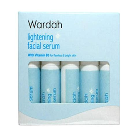 Serum Wajah Wardah jual wardah lightening serum 5 botol