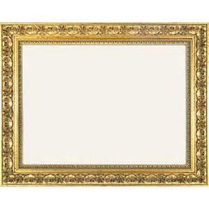 Cornice Cutting Baroque Frame 972 Oro Gold Ornamented Without Glass And
