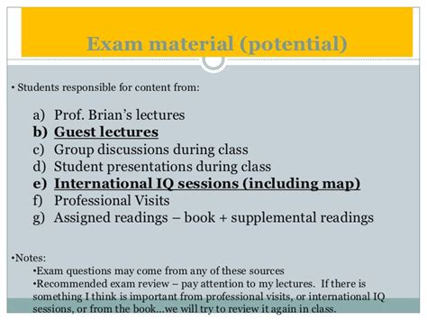 Colubia Mba Class Visiit by Part 6 Switzerland Eu Course Summer 2011