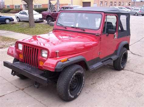 what year did jeep make 4 door wrangler 1987 jeep wrangler yj 4x4 sport utility 2 door 4 2l inline