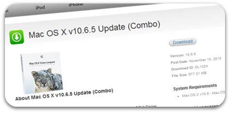 mac os x 10 6 update 8 my macbook mini mac os x 10 6 5 update released