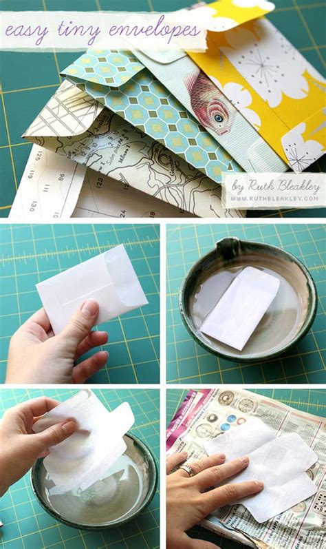 How To Make An Envelope Out Of Wrapping Paper - 28 awesome crafts to make with leftover wrapping paper