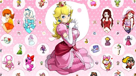 Black princess peach wallpaper   1920x1080   25578