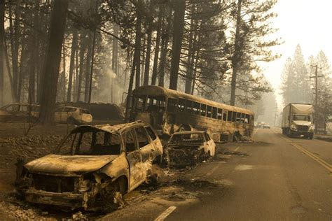 california battles deadly wildfires  north  south
