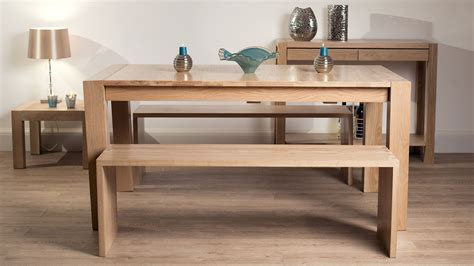 solid oak dining table and benches contemporary washed oak dining bench modern solid oak