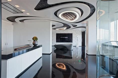 artistic interior design artistic and modern interior design for sales center by zaha hadid home building furniture