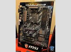 MSI displays upcoming AMD Ryzen ready motherboards M.2 Pcie X16