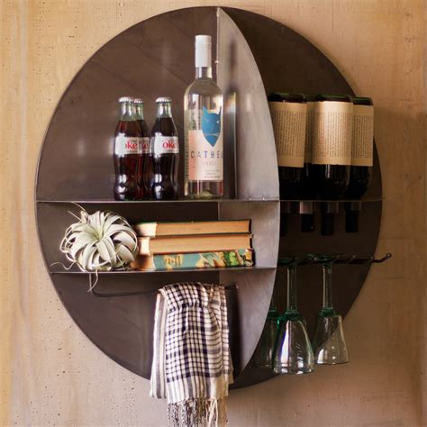 wall bar make the most of your walls with these 17 trendy storage
