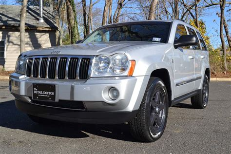 silver jeep grand cherokee 2007 2007 jeep grand cherokee limited pre owned