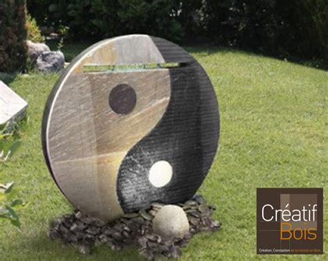 ying yang terrasse fontaines d int 233 rieur ou d ext 233 rieur murs d eau