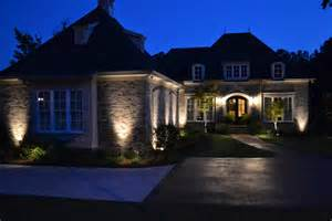 backyard landscape lighting triyae landscaping lighting ideas for front yard