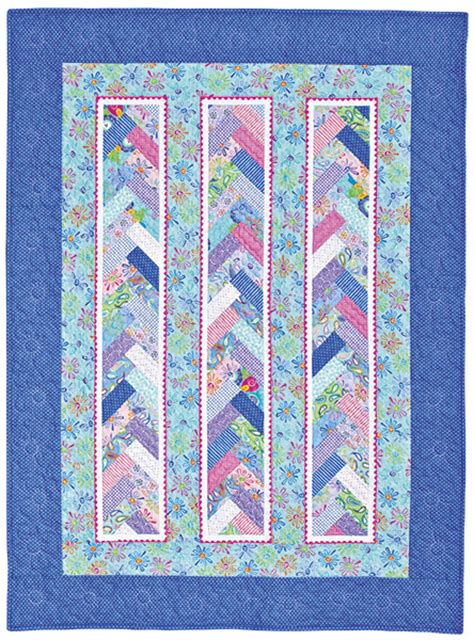 Quilts In A Day by Braid In A Day Pattern Quilt In A Day Eleanor Burns W Acrylic Template Easy Ebay