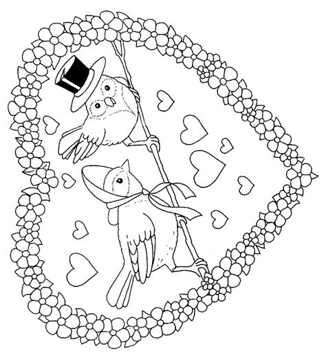 amazing coloring pages st valentine coloring pages