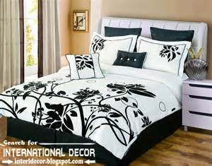 Italian bedding sets black and white bedspreads and bedding sets