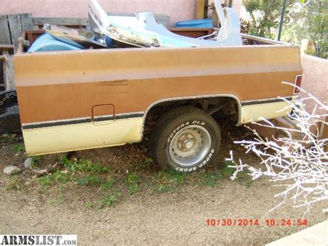 armslist for sale trade 78 chevy truck bed trailer