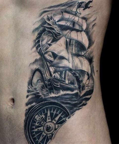 pinterest tattoo for guys rib cage side small ship tattoo for guys tattoos good