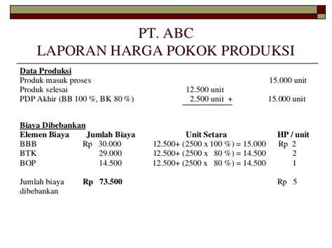 skripsi akuntansi harga pokok produksi contoh laporan harga pokok produksi mikonazol