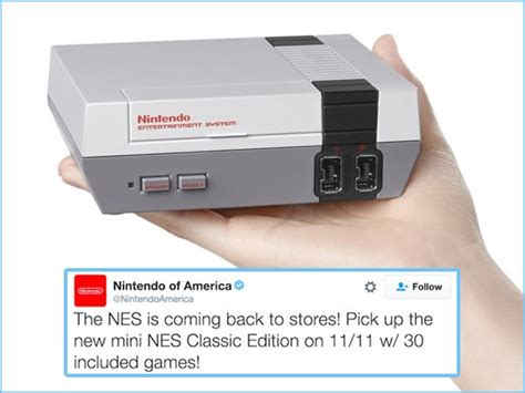Bringing Back A Classic For by Nintendo Is Bringing Nes Classic To You This Fall 5