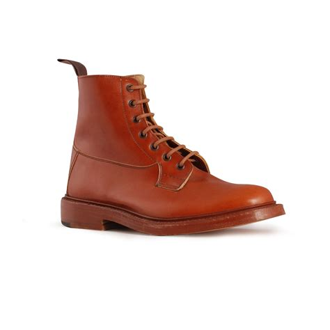 trickers boots burford maroon trickers boots trickers