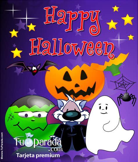 imagenes de feliz cumpleaños en halloween feliz halloween expandible expandibles tarjetas