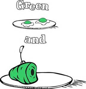 green eggs and ham coloring pages dr seuss quotes coloring pages quotesgram