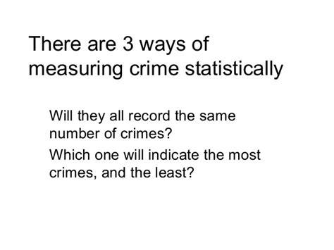 Pdf Criminals Three Way by 6 Three Ways Of Measuring Crime