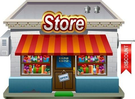 store clipart free small shops model 01 clipart and vector graphics