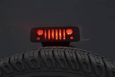 jeep jk third brake light jeep grill third brake light guard jt12b