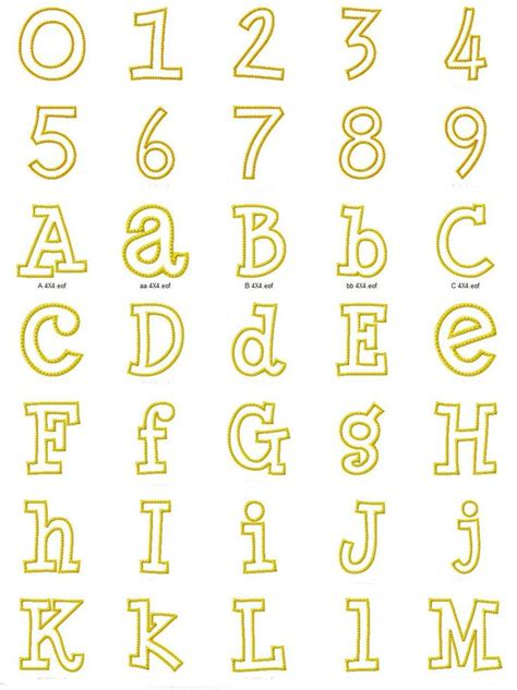 printable whimsical alphabet letters 17 best images about applique letter patterns on pinterest