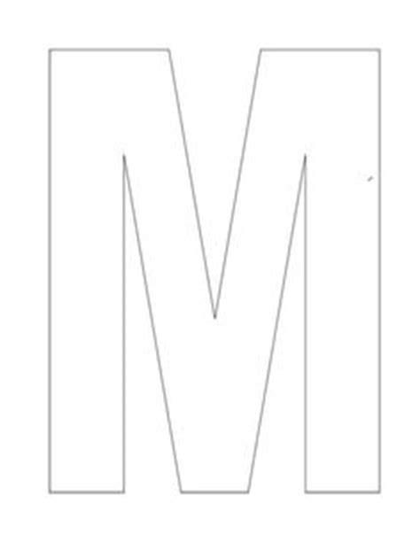 Buchstabe M Vorlage by Letter M On Monkey Crafts Crafts And