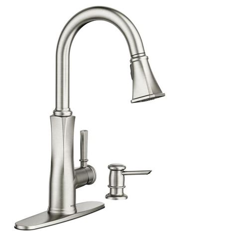 moen stainless steel kitchen faucet best 25 kitchen sink faucets ideas on