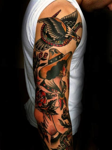 traditional tattoo designs for men 60 traditional sleeve designs for school