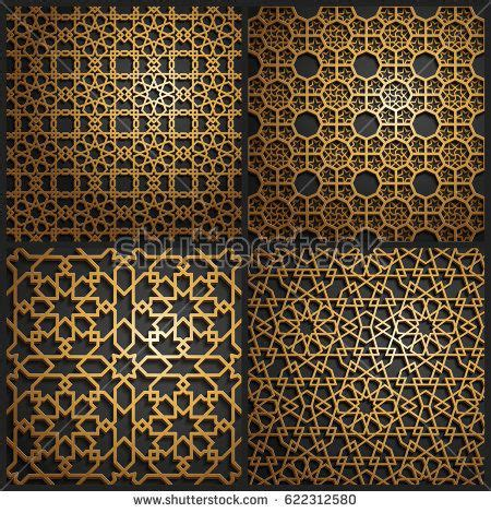 arab pattern wallpaper set of islamic oriental patterns seamless arabic