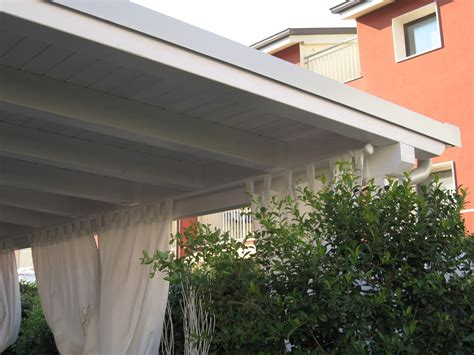 tettoie in legno bianco per due punti luce with tettoie in legno bianco