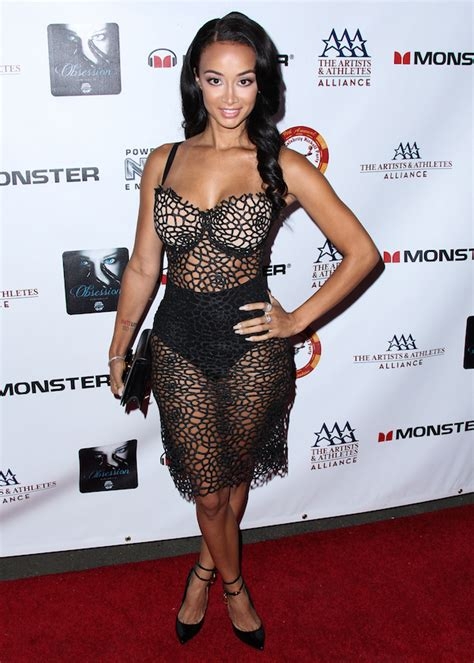 draya michele 2014 hot or hmm draya michele s espys playboy party valencia