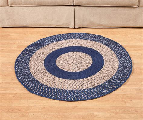 rugs by color multi color non slip braided rug by oakridgetm ebay