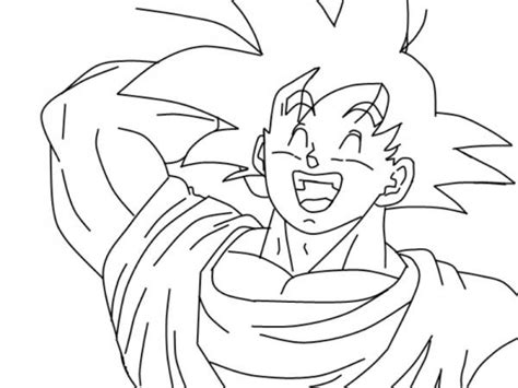 Imagenes De Goku Que Se Puedan Dibujar | im 225 genes de goku y sus transformaciones para colorear