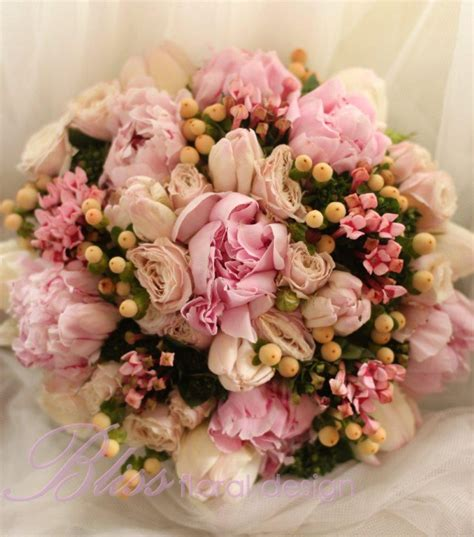 Pink Flowers Wedding by Southern Blue Celebrations Pink Wedding Bouquets