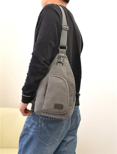New Anello Shoulder Bag Tas Selempang Anello A392 vintage canvas satchel school s hiking