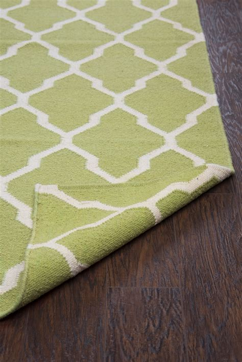 8x10 trellis rug swing quatrefoil trellis wool area rug in green white 8 x 10