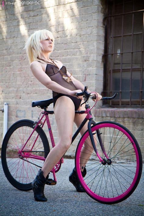 hot girls on fixie bikes pin by danny flesher on bikes babes pinterest