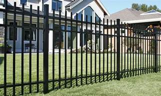 home depot iron fence fencing the home depot canada