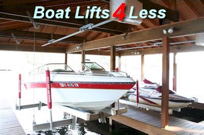 boat house lifts for sale boat hoist usa standard series aluminum 4 6 post boat
