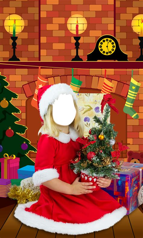 christmas kids photo montage android apps on google play