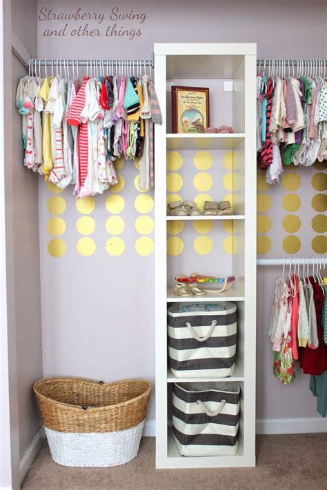 Nursery Wardrobe With Shelves by 45 Changing Closet Organization Ideas For Your