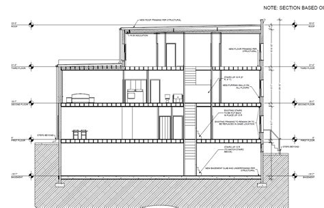 Philadelphia Row Home Floor Plan With Garage by The Anatomy Baltimore Rowhouse Community Architect Pict