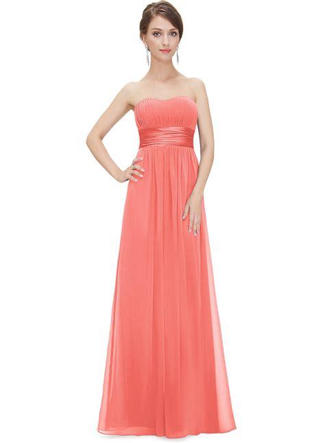 elegant strapless maxi prom evening party dress oasap com