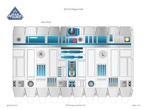 R2d2 Papercraft - the world s catalog of ideas