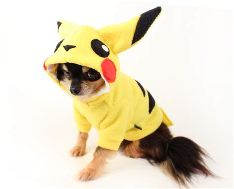 pikachu puppy pikachu costume it s time to evolve your pal big kid at